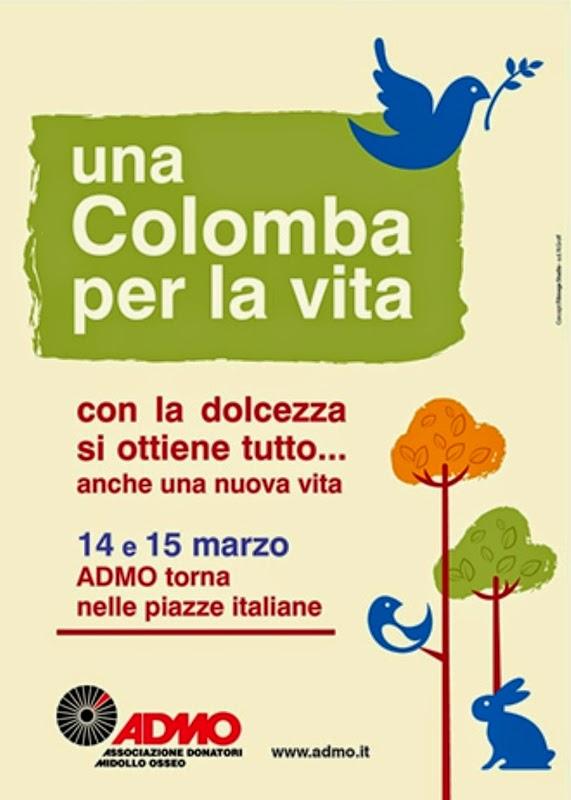 ADMO: LE COLOMBE PER LA VITA NELLE PIAZZE ITALIANE