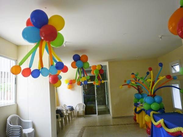Globostilo decoraciones globos decoracion fiestas con globos - Bombas para decorar ...