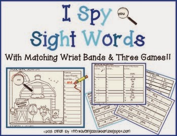 http://www.teacherspayteachers.com/Product/I-Spy-Sight-Words-With-Matching-Wrist-Bands-and-Three-Games-867068