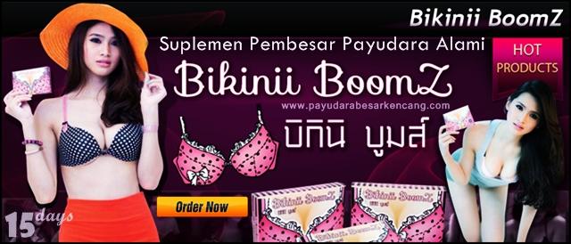Jual Suplemen Obat Pembesar dan Pengencang Payudara Alami Bikinii Boomz Original Thailand