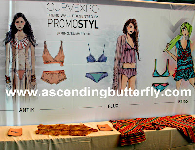Promostyl Trend Wall, MODE LINGERIE AND SWIM CURVEXPO 2015