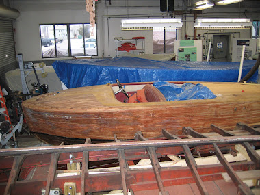 Before - 18' Chris Craft Riviera
