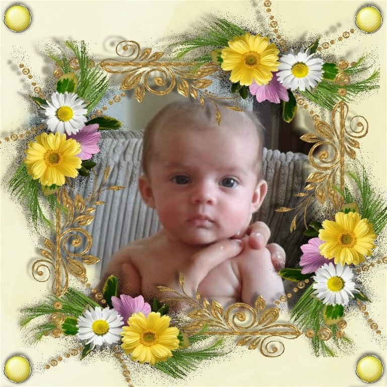 My gorgeous Great Granddaughter