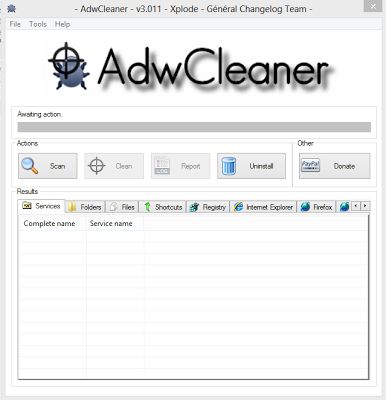 Membersihkan Virus dengan Software Adw Cleaner Free