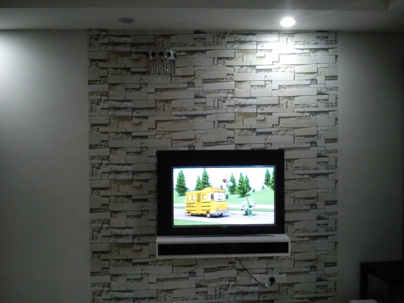 cara pasang wallpaper