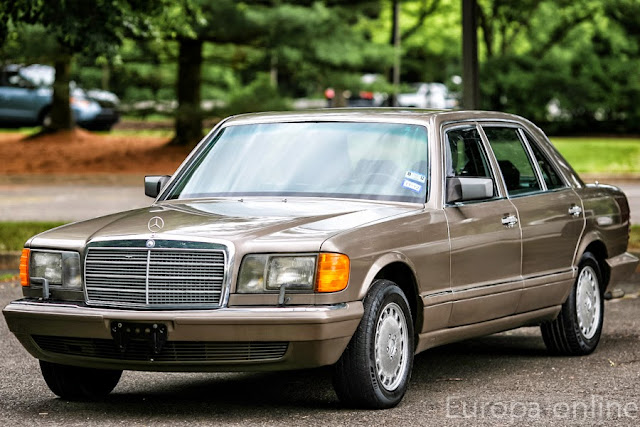 mercedes w126 brown
