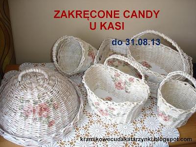 Zakręcone Candy u Kasi do 31.08.13
