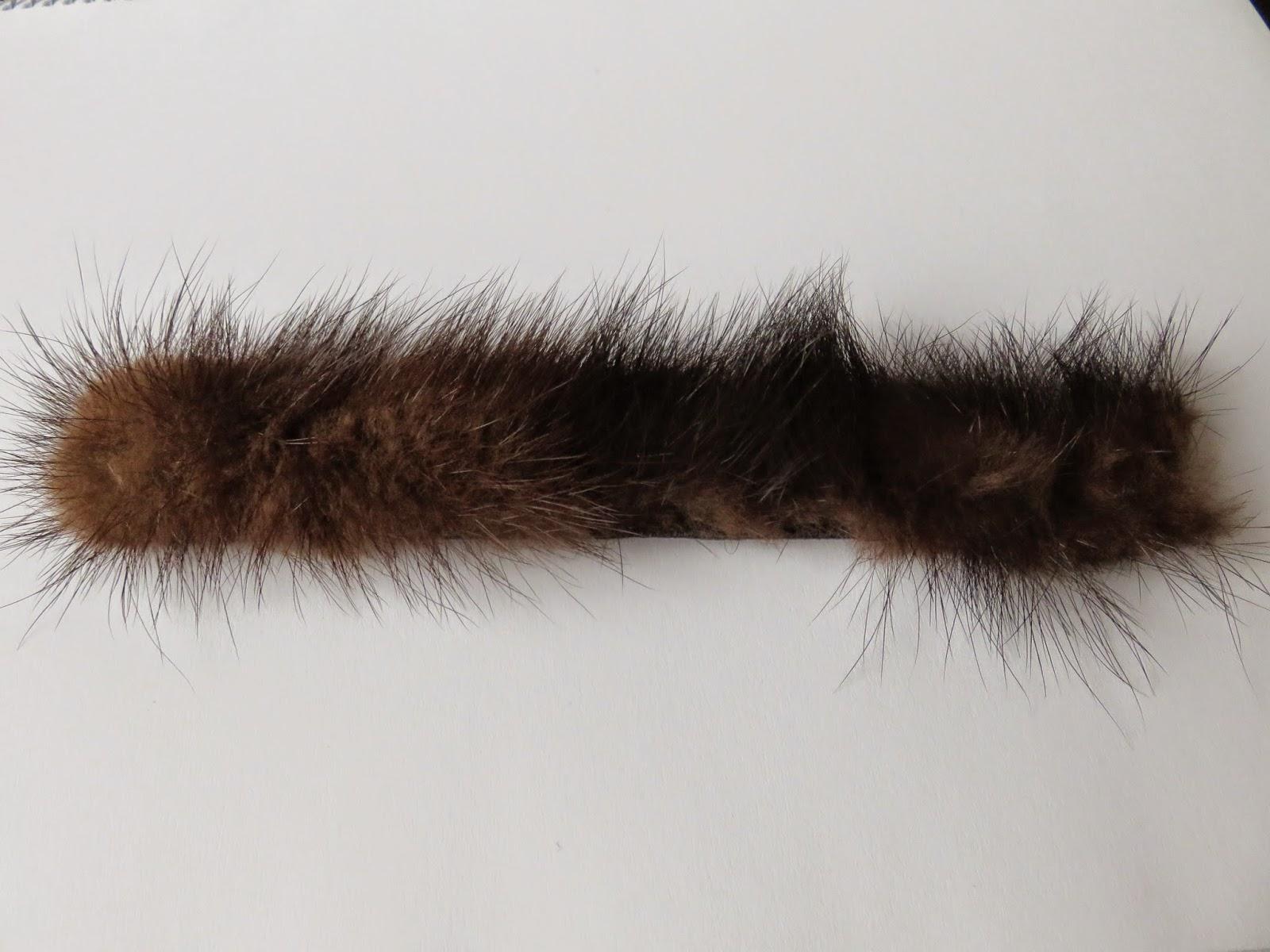 fake fur bracelet