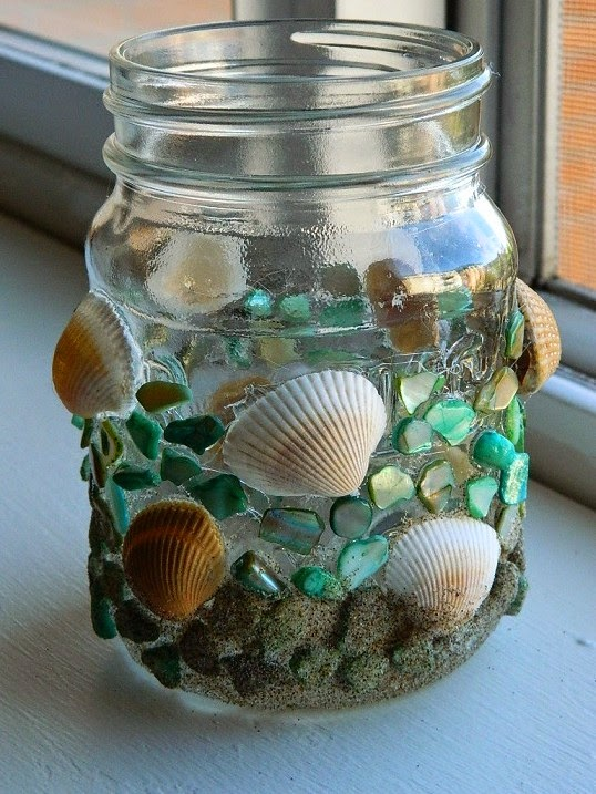 Craft from seashell art craft projects for Sea shell craft ideas
