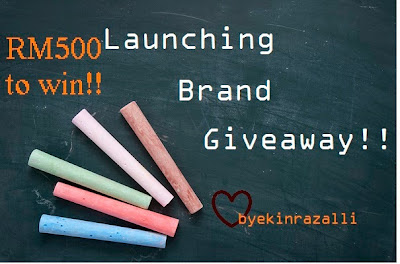 GIVEAWAY BY EKINRAZALLI WORTH RM500 TO WIN!