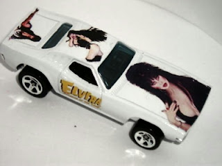 Custom Elvira Hot Wheels Dixie Challenger