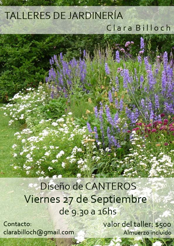 En el jardin nuevamente taller de canteros for Canteros de jardin