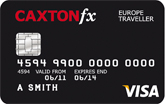 Caxton FX Europe traveller card