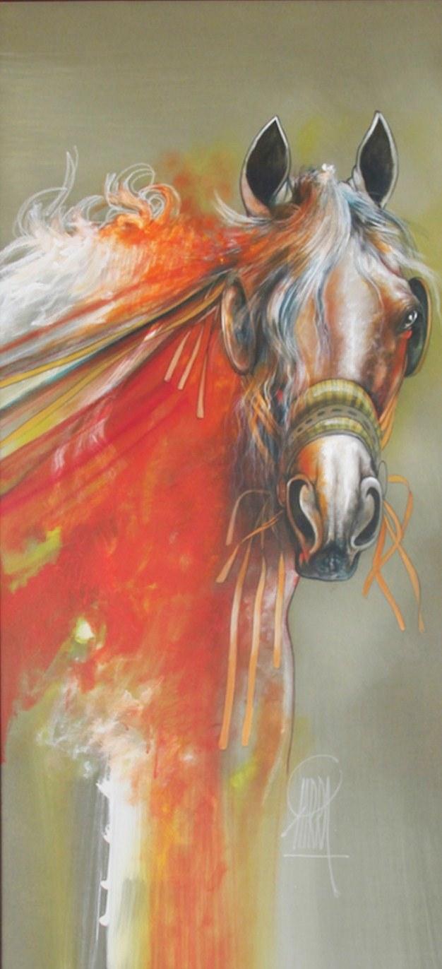 Pinturas cuadros lienzos cuadros modernos con caballos de - Cuadros minimalistas modernos lo ultimo arte ...