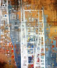 La citadelle des Anges - 210 x 180 cm - 2005
