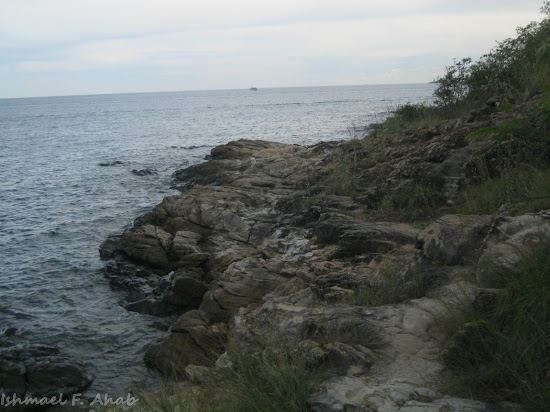 Cliff of Koh Samet Island