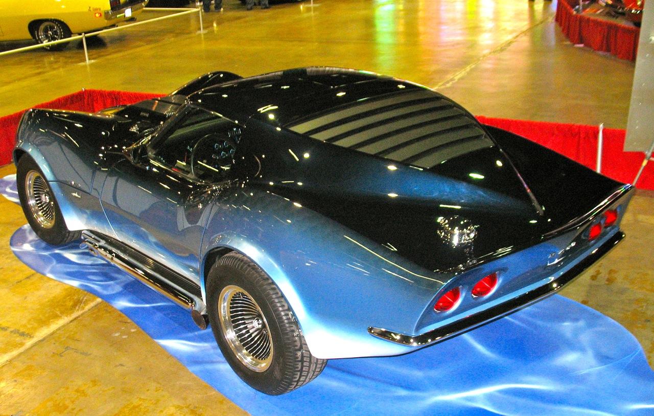 Tricolor Paint Car