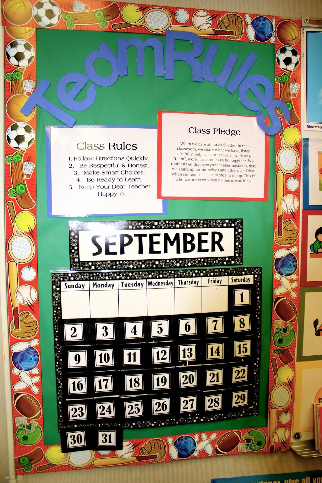 Classroom Pledge Ideas ~ Sierra s view a th grade classroom