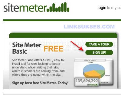 Daftar Sitemeter