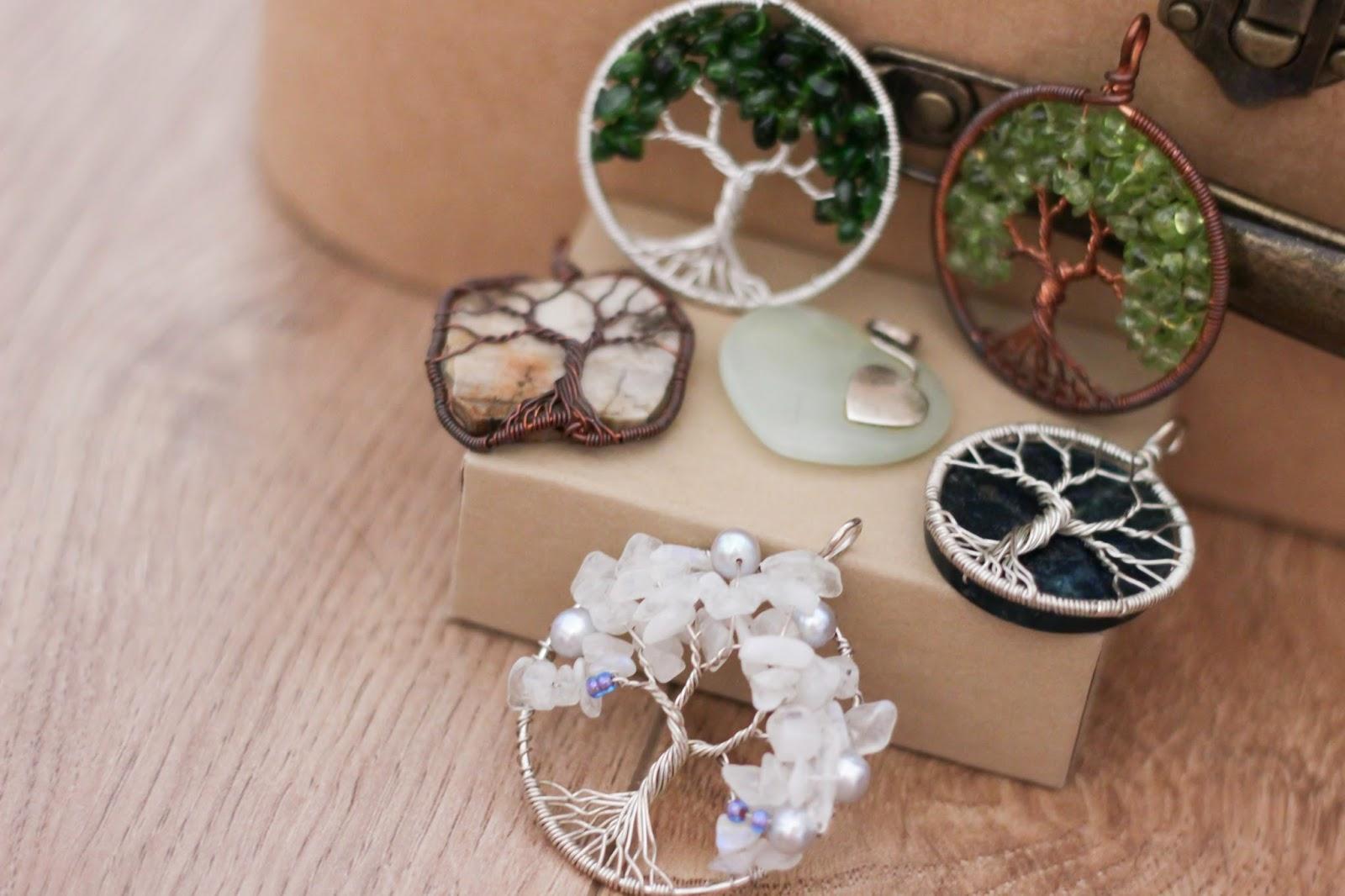 healing gemstone necklaces