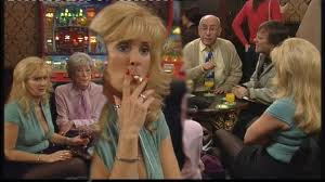 beverley callard smoking