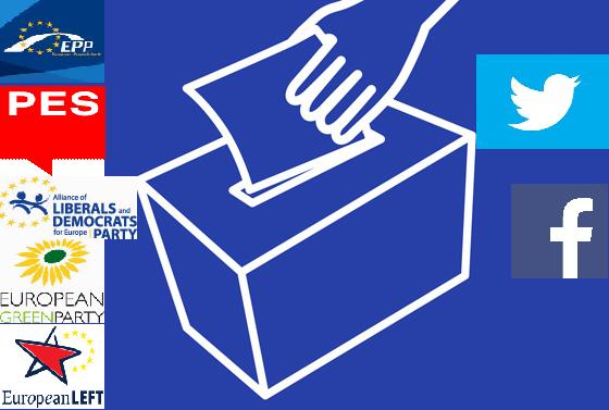 Las Elecciones Europeas 2014 en Facebook y Twitter