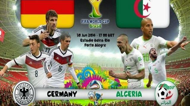 كاس العالم مباريات اليوم الجزائر و المانيا .. فرنسا و نيجيريا