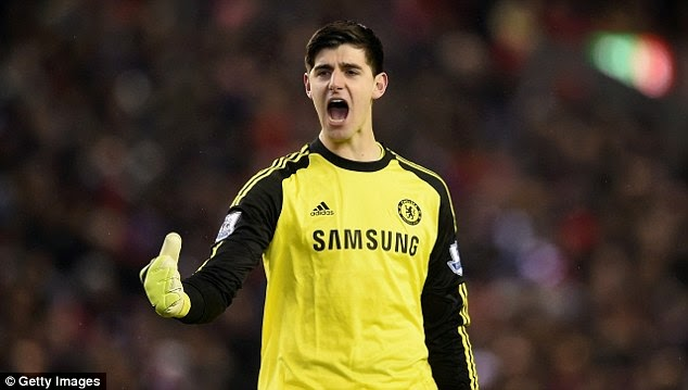Thibaut Courtois played a major part in Chelsea's Capital One Cup victory over Liverpool