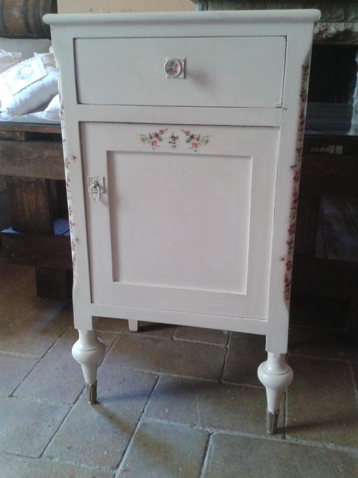 Decoupage transfer y otras t cnicas restauraci n de - Restaurar muebles con carcoma ...