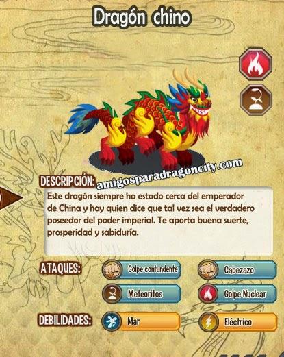 imagen del dragon chino y sus caracteristicas