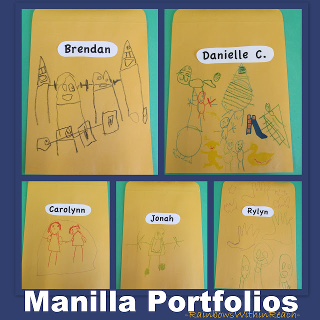 photo of: Portfolios in Preschool, Portfolio for Fine Motor
