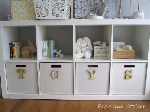 Expedit ikea fadrique atelier - Mueble para guardar juguetes ...