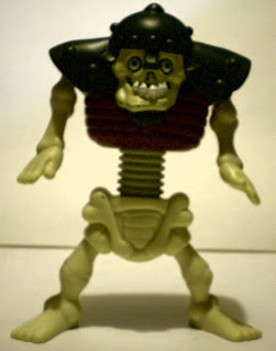 Front of McDonald's Stretch Screamers Skeleton from 2003