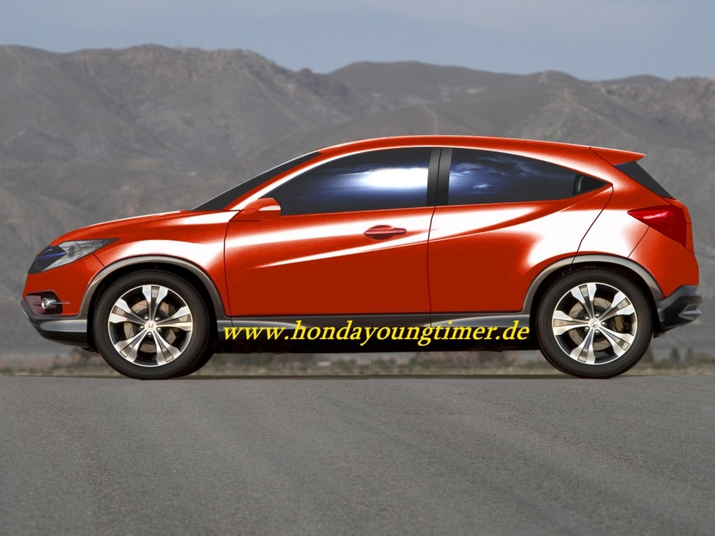 Urban SUV Concept that is set to take center stage at Honda's stall
