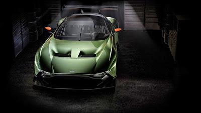 Aston Martin Vulcan Front Profile