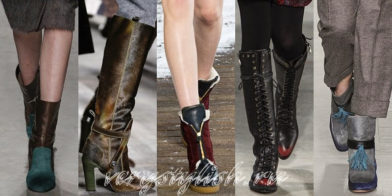 2015 Winter Women's Boots Fashion Trends