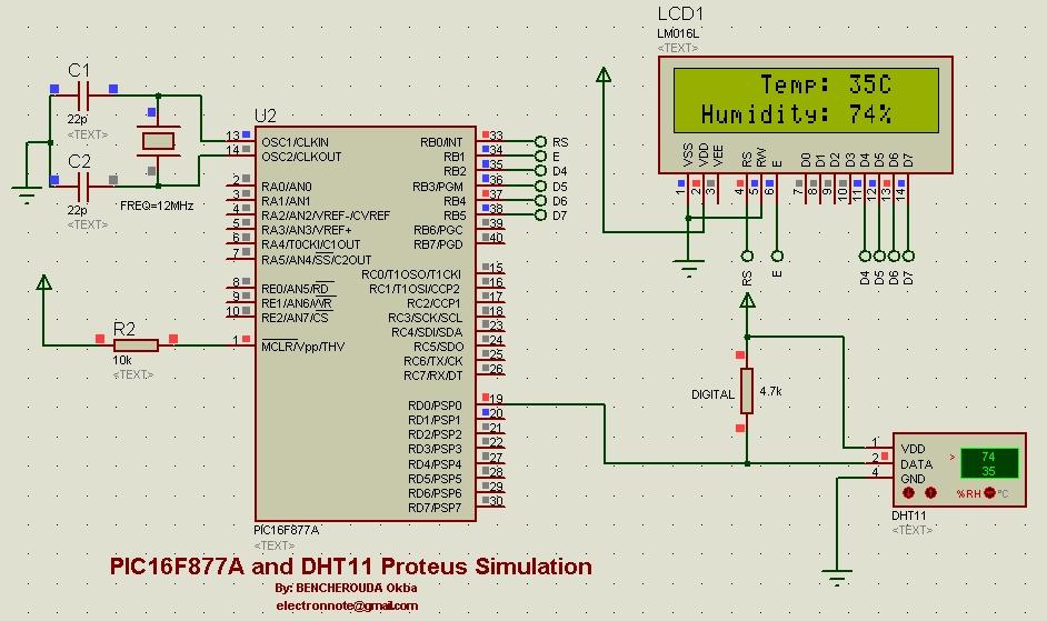 DIY Temperature Humidity Smoke Detector Alarm