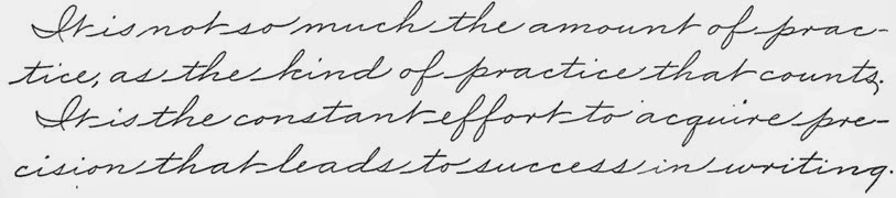 Palmer Handwriting