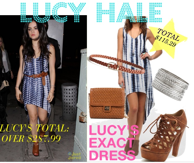 tie dye dress, topshop, pretty little liars, aria, urban outfitters