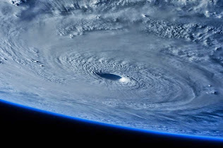 A LOOK AT SUPER TYPHOON MAYSAK FROM ISS