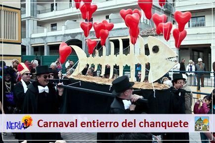 El domingo, el entierro del Chanquete cierra los actos del carnaval de Nerja