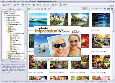 A colorful interface for a good and easy-to-use photo editor