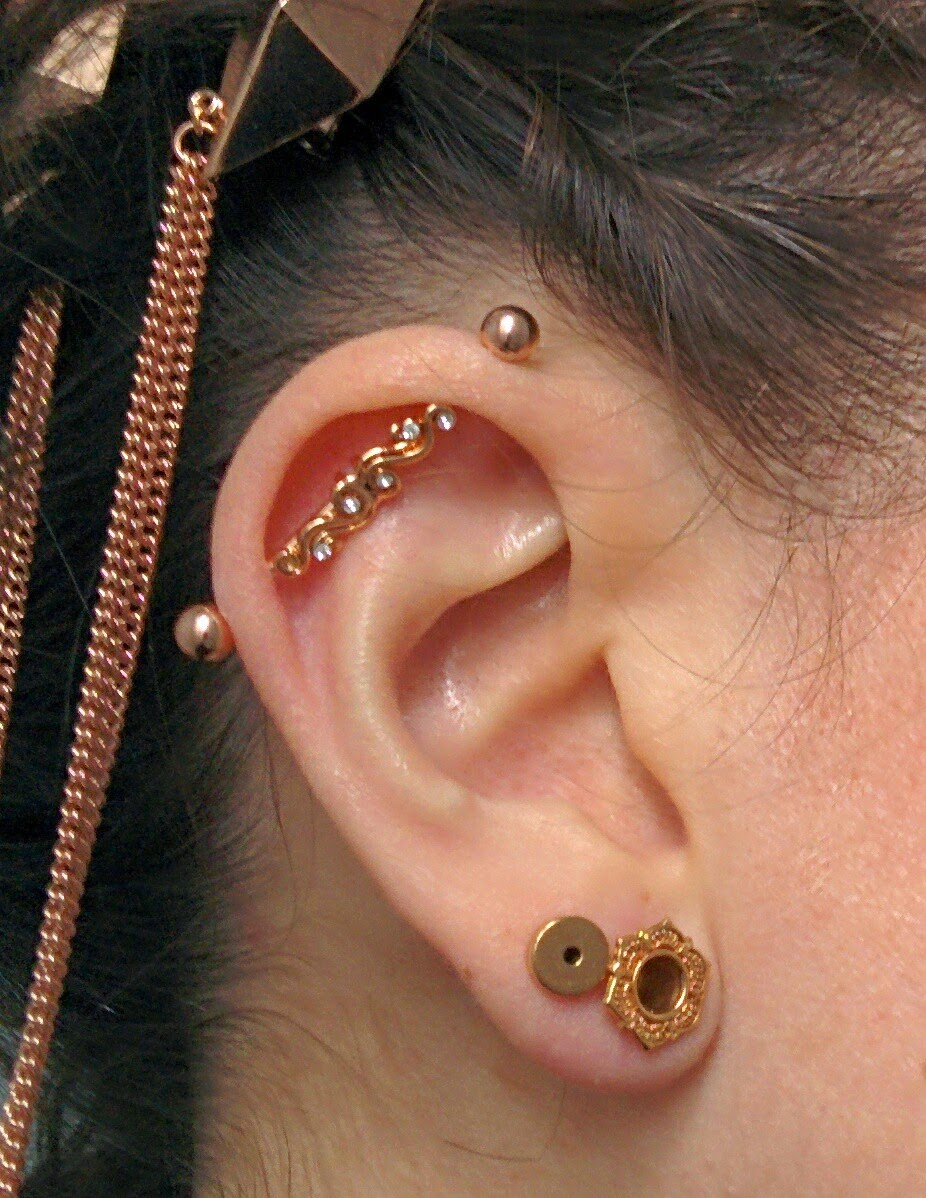 The Mutant Stomp Friends Industrial Bar Earring Haul
