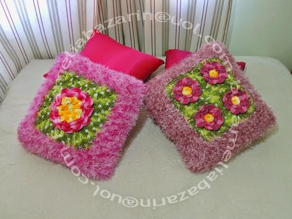 Almofadas em Croche