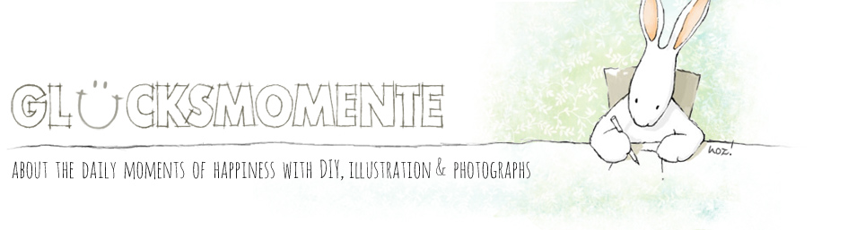 Glücksmomente: Moments of happiness with DIY, Illustration & Photographie