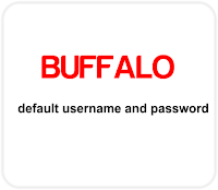 Buffalo Modem Log In Username