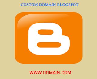 Cara Custom Domain Blogspot di Rumah Web