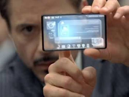 Transparent Smartphone