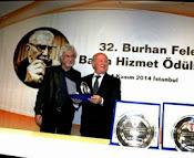 32. Burhan Felek Ödülleri verildi..