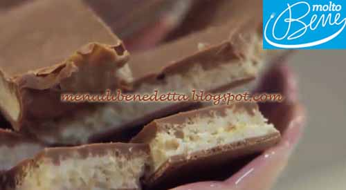Riso soffiato al cioccolato ricetta Parodi per Molto Bene su Real Time